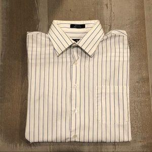 Calvin Klein Pinstripe Dress Shirt